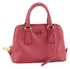 Prada Promenade Handbag Saffiano Shoulder Bag