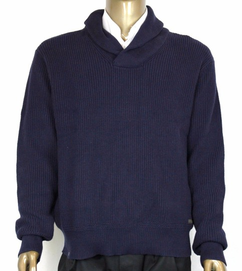 Preload https://img-static.tradesy.com/item/21341886/polo-ralph-lauren-navy-mens-cotton-shawl-collar-sweater-xl-0186171-shw-groomsman-gift-0-0-540-540.jpg