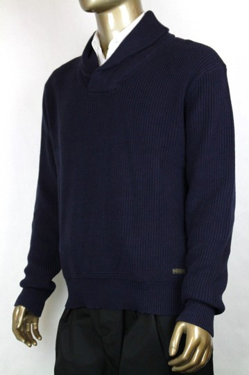 Polo Ralph Lauren Navy Mens Cotton Shawl-collar Sweater Xl 0186171 Shw Groomsman Gift