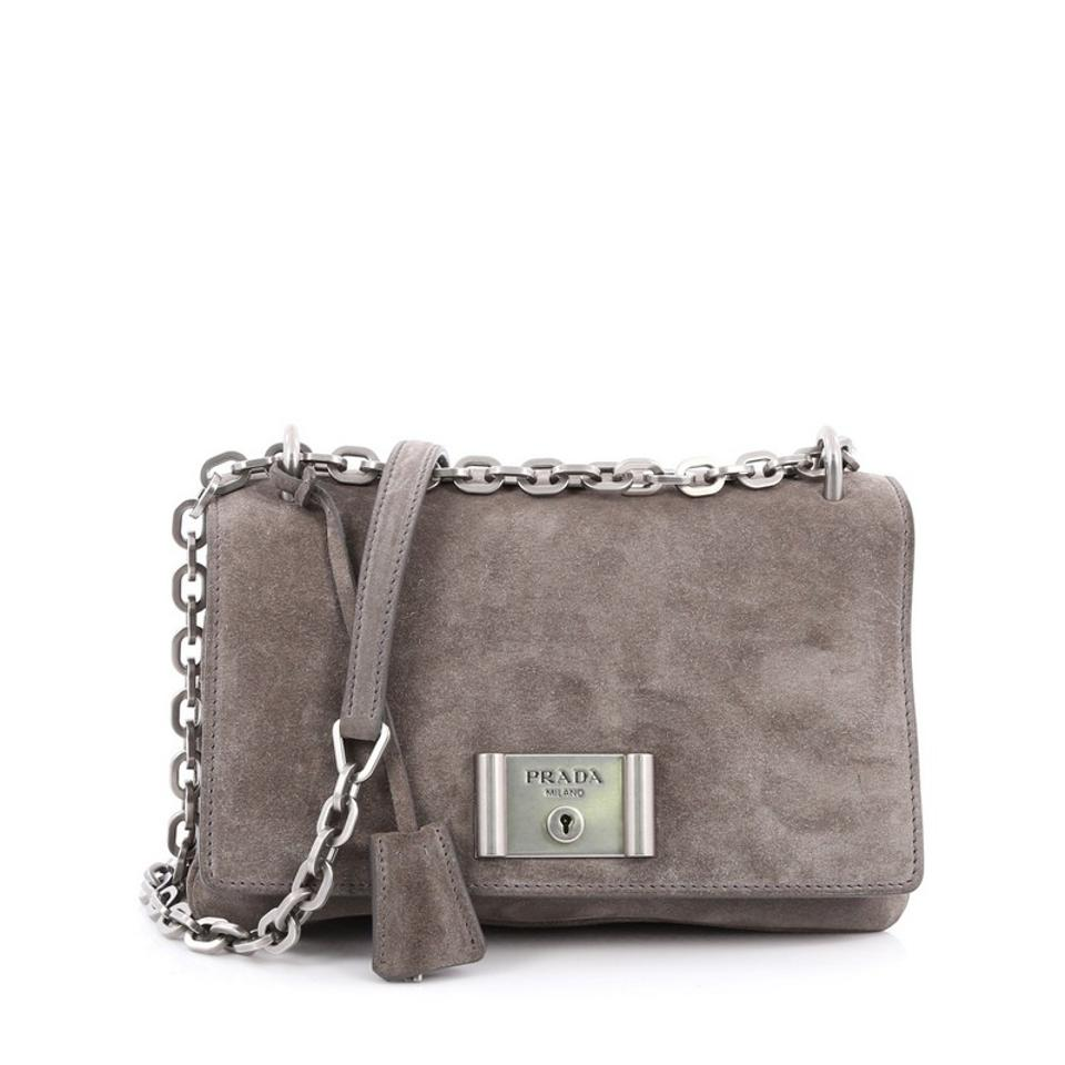 9b686abd86ad ... free shipping prada suede shoulder bag 6d874 a383f
