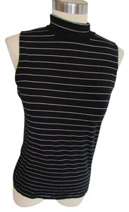 Ralph Lauren Top Black and white striped