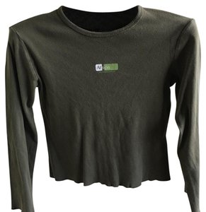 Abercrombie & Fitch Top hunter green