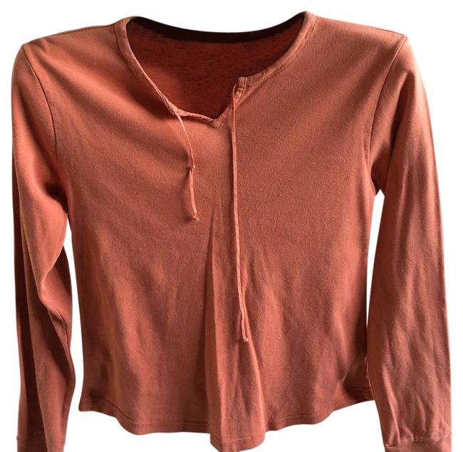 Preload https://img-static.tradesy.com/item/21342210/american-eagle-outfitters-orange-long-sleeves-shirt-blouse-size-8-m-0-1-650-650.jpg