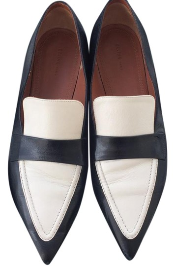 Preload https://img-static.tradesy.com/item/21342382/celine-black-and-white-loafer-flats-size-us-95-regular-m-b-0-2-540-540.jpg