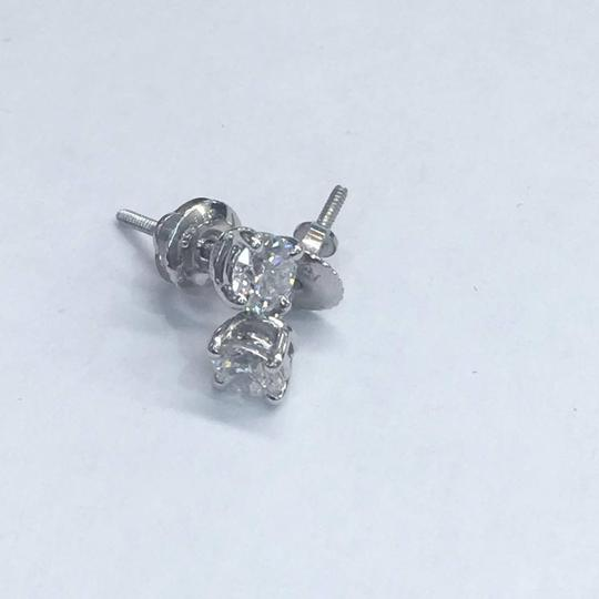Tiffany & Co. BEAUTIFUL Tiffany & Co. Signed and Hallmarked Diamond Stud Earrings