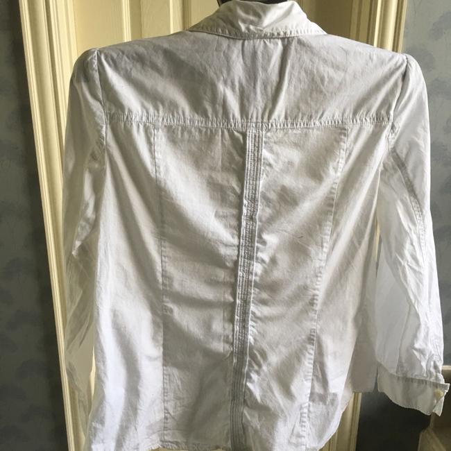 J. Jill Button Down Shirt white
