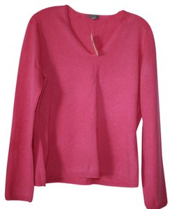 Ann Taylor Cashmere V-neck Pullover Sweater