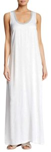 White Maxi Dress by James Perse Silky Fabric