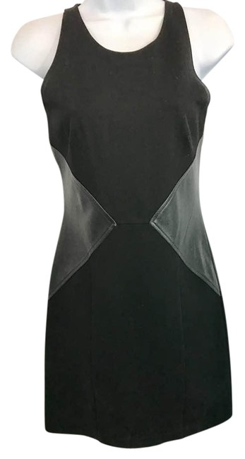 Preload https://img-static.tradesy.com/item/21342854/patterson-j-kincaid-leather-and-lace-trim-black-sheath-short-night-out-dress-size-6-s-0-2-650-650.jpg