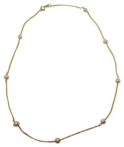 RCI Vintage RCI 14K Gold Pearl Necklace