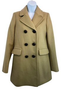 NWT Zara Tan Pea Coat