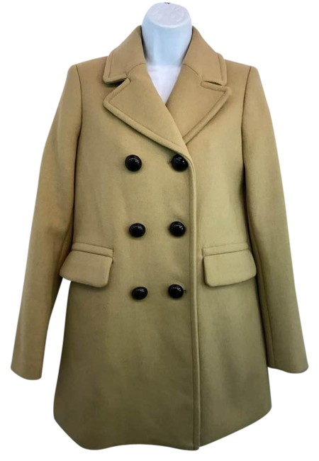 Preload https://img-static.tradesy.com/item/21342911/trafaluc-tan-polyester-pea-coat-size-2-xs-0-2-650-650.jpg