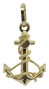 Other 14K Yellow Gold Anchor Pendant