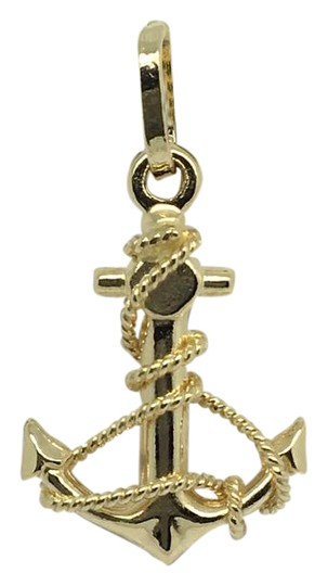 Other 14K Yellow Gold Anchor Pendant Image 0