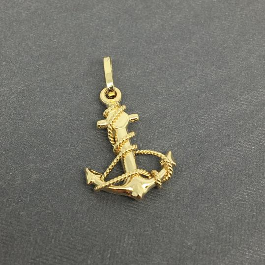 Other 14K Yellow Gold Anchor Pendant Image 1