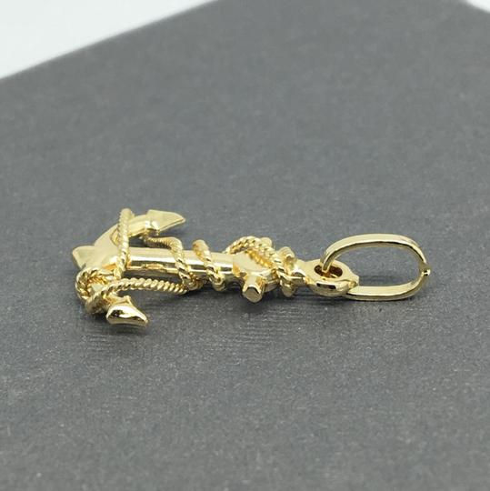 Other 14K Yellow Gold Anchor Pendant Image 2