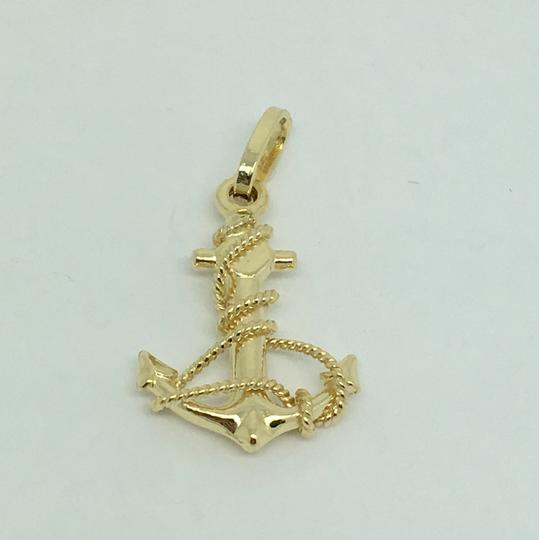Other 14K Yellow Gold Anchor Pendant Image 5
