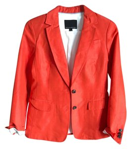 Banana Republic coral orange Blazer
