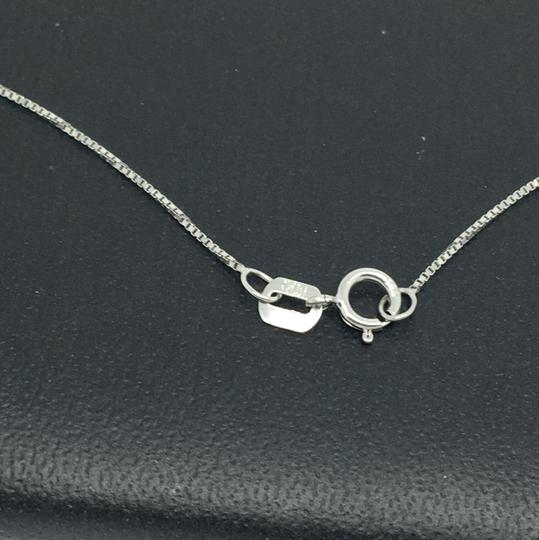 Other 14K White Gold Box Chain ~0.50mm 20 Inches Image 3