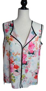 H&M Sleeveless Top Floral