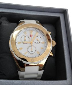 Michele NWT Tahitian Jelly Bean Large Case watch