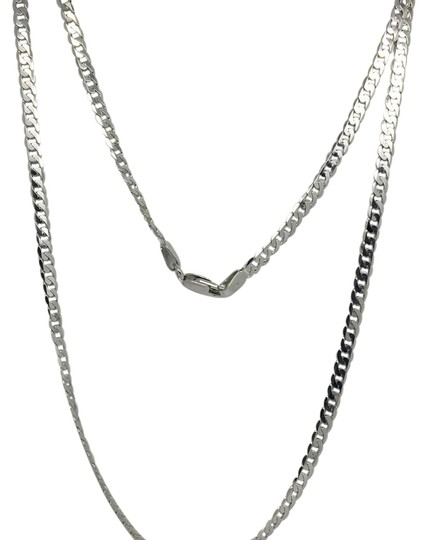 Preload https://img-static.tradesy.com/item/21343049/925-sterling-silver-flat-curb-link-chain-300mm-20-necklace-0-2-540-540.jpg