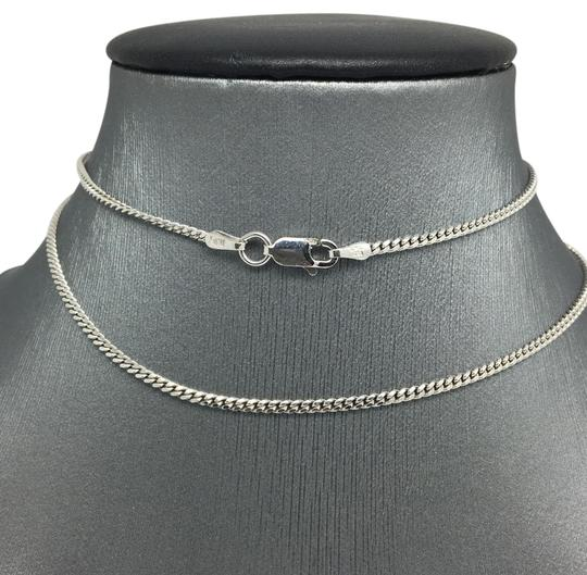 Preload https://img-static.tradesy.com/item/21343069/925-sterling-silver-rhodium-curb-chain-22-inches-185mm-necklace-0-1-540-540.jpg