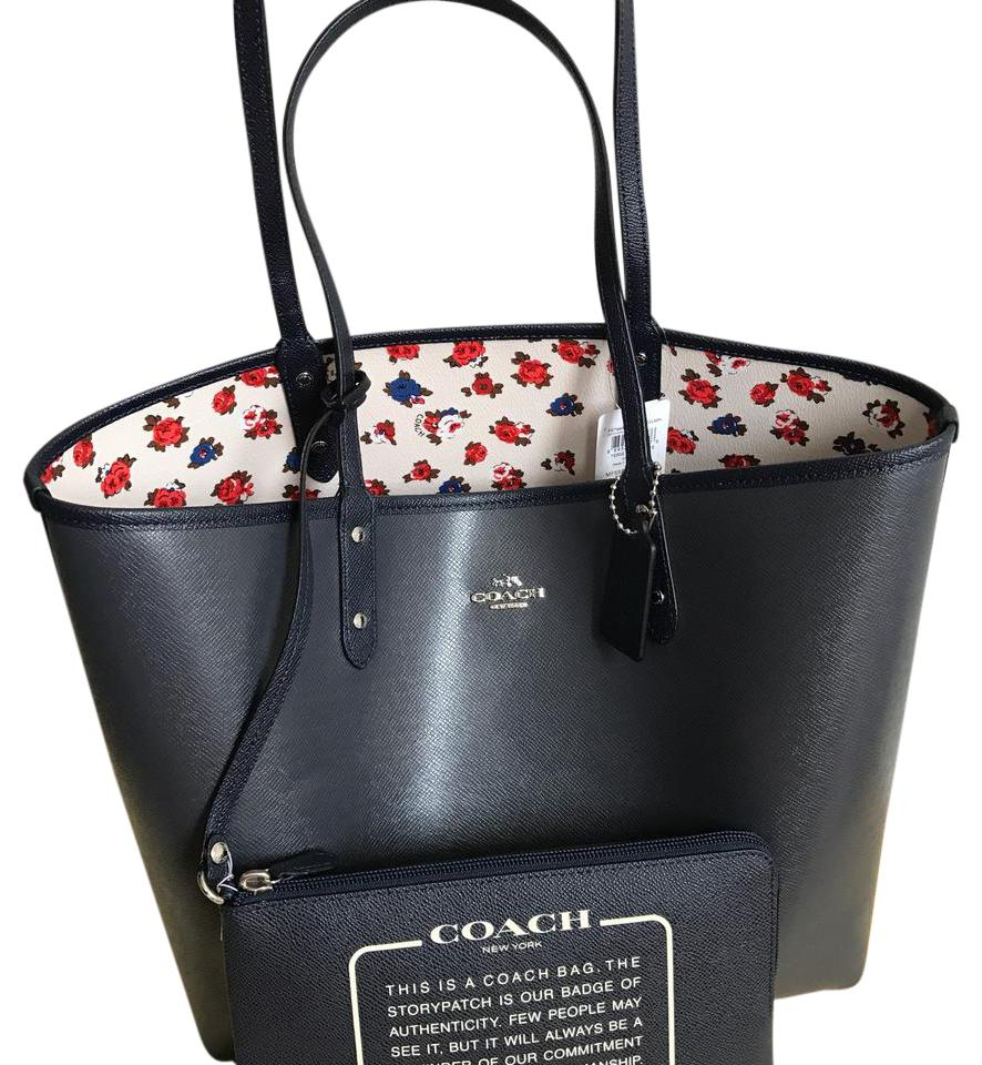 b038850c0 ... shop coach tote in silver chalk multi midnight 3a971 99acb
