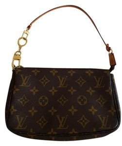 Louis Vuitton Canvas Leather Shoulder Bag
