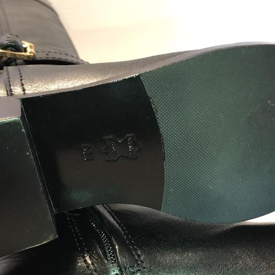 Tory Burch Riding Black Leather Boots Image 7