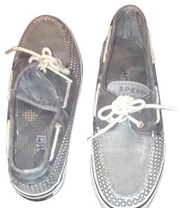 Sperry Top-Sider Grey/polka dotted Mules
