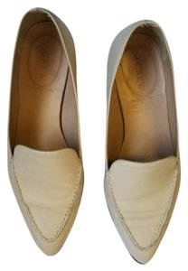 J.Crew Loafer Leather Italian Cream Flats