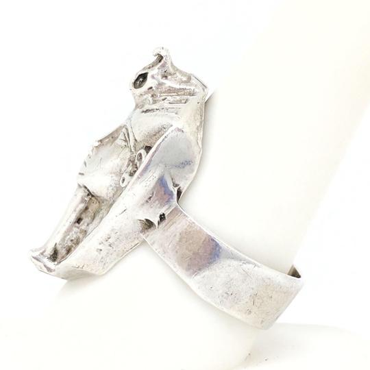 DeWitt's Beautiful Sterling Silver Egyptian Style Ring Image 1
