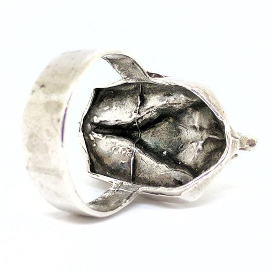 DeWitt's Beautiful Sterling Silver Egyptian Style Ring Image 3
