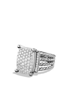 David Yurman Wheaton Ring with Diamonds