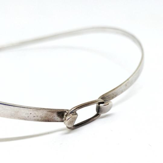 DeWitt's Gorgeous Vintage Sterling Silver Cuff Necklace Image 2