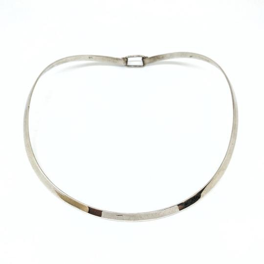 DeWitt's Gorgeous Vintage Sterling Silver Cuff Necklace Image 4