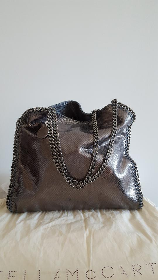 d4e4eeeb286d Stella McCartney Chain Faux Leather Shoulder Bag Image 9. 12345678910