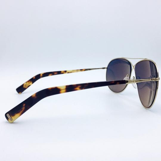 177c97713a1c ... Tom Ford Gold Eva Pilot Aviator Sunglasses Image 1