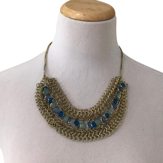 Preload https://img-static.tradesy.com/item/21343413/gold-with-blue-and-green-stones-chain-necklace-0-1-540-540.jpg