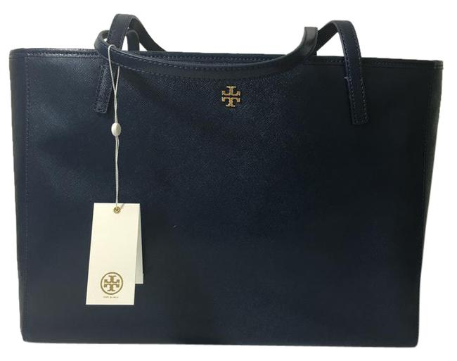 Tory Burch Caitlin Hudson Bay Patent Leather Tote Tory Burch Caitlin Hudson Bay Patent Leather Tote Image 1
