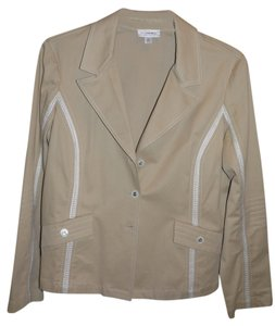 St. John Tan Sand Jacket
