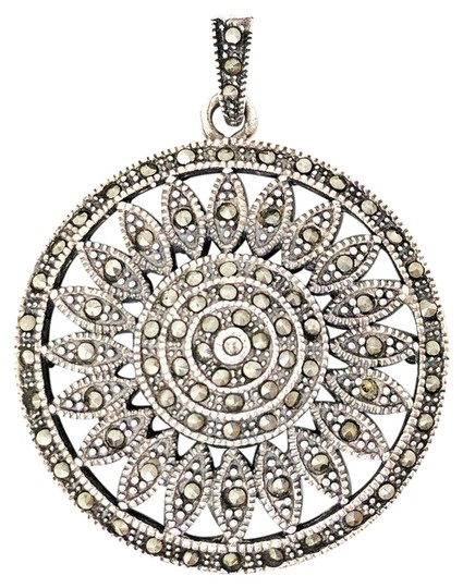Preload https://img-static.tradesy.com/item/21343455/vintage-pendant-sterling-silver-with-marcasite-charm-0-1-540-540.jpg