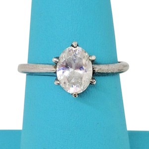 DeWitt's Beautiful Sterling Silver Ring with Cubic Zirconia
