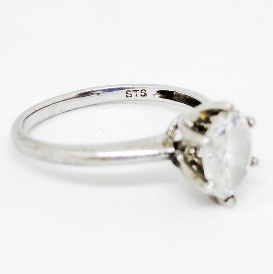 DeWitt's Beautiful Sterling Silver Ring with Cubic Zirconia Image 2