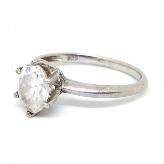 DeWitt's Beautiful Sterling Silver Ring with Cubic Zirconia Image 3