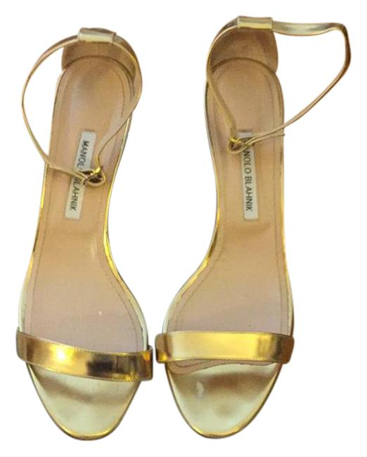 Item - Gold Classic Chaos Sandal Great Condition Formal Shoes Size US 11.5 Regular (M, B)