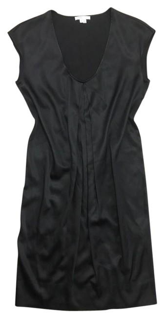 Preload https://img-static.tradesy.com/item/21343627/vince-black-scoop-neck-silk-stretch-shift-cap-sleeve-mid-length-cocktail-dress-size-4-s-0-3-650-650.jpg