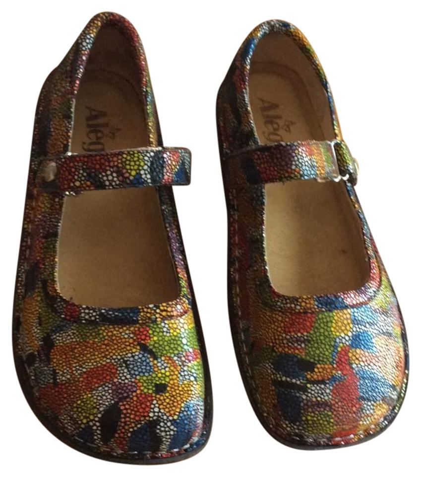 Alegria by Multicolor PG Lite Multicolor by Mary Jane Wedges b6c4dc
