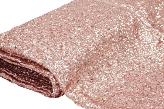 You Choose Sequin 4 Feet Wide X 12 Feet Long 23 Colors Sparkle Aisle Runner Image 3